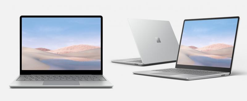 Kuvassa Microsoft Surface Laptop Go.
