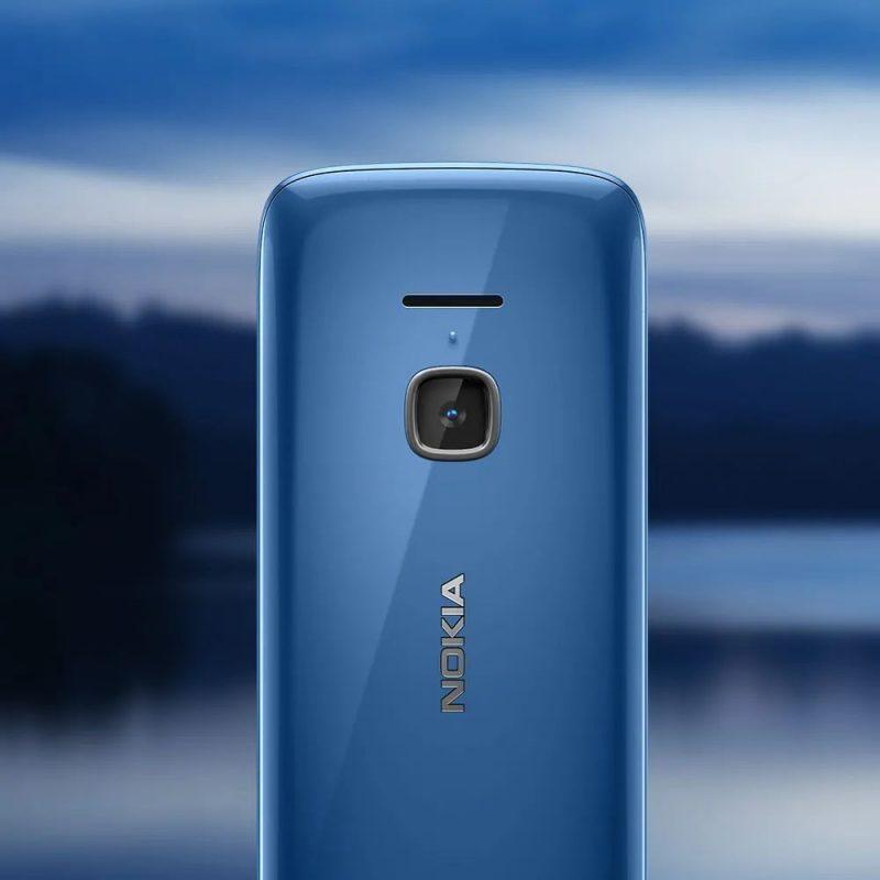 Nokia 225 4G:ssä on kamera.