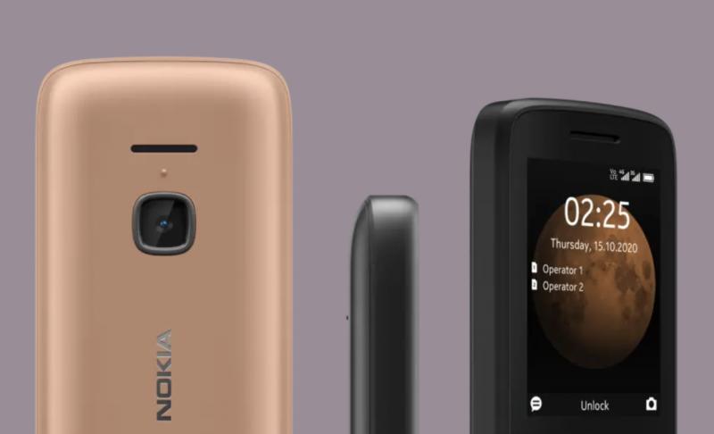 Nokia 225 4G:ssä on myös kamera.