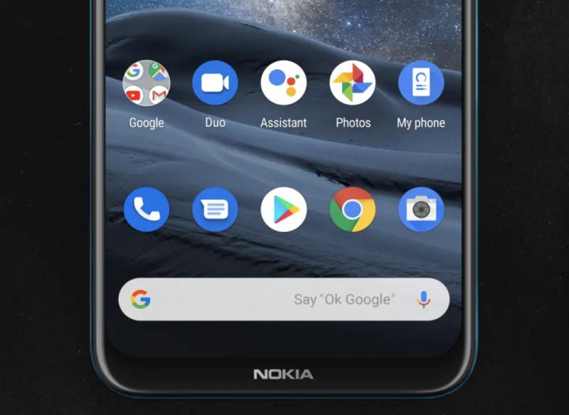 Nokia 8.3 5G:stä löytyvät kaikki tutut Google-sovellukset.