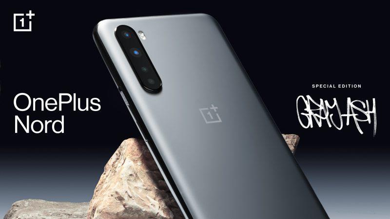 OnePlus Nord saa uuden harmaan Gray Ash -värin.