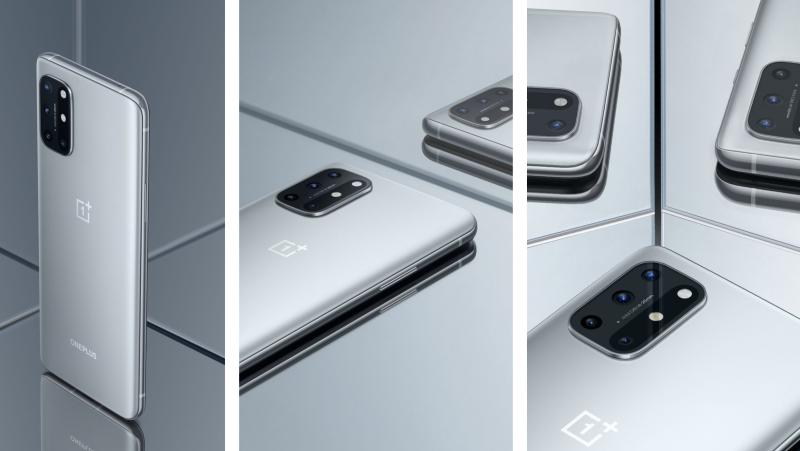OnePlus 8T, Nopee hopee / Lunar Silver.