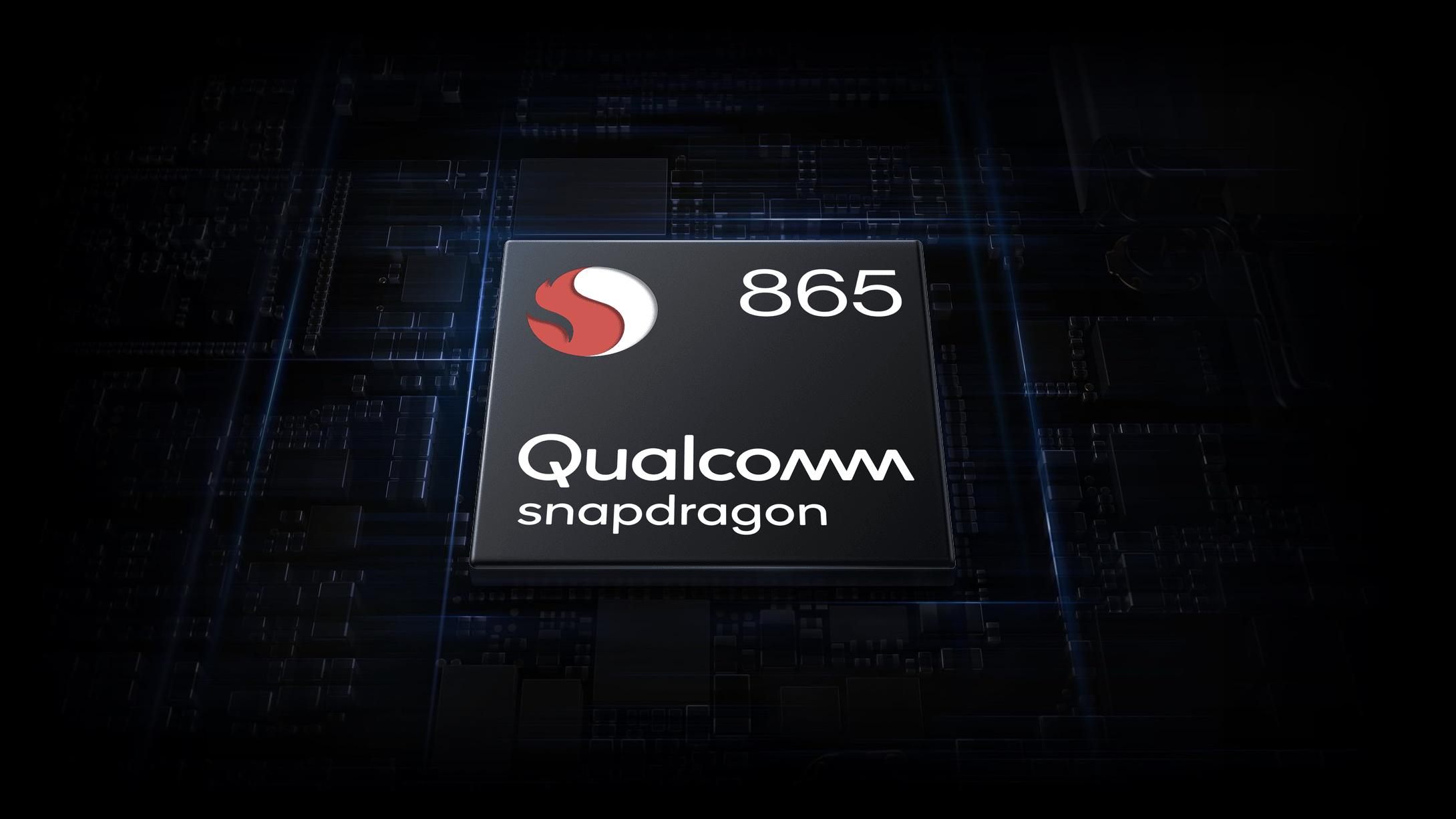 Snapdragon 865 takaa huippuluokan suorituskyvyn.