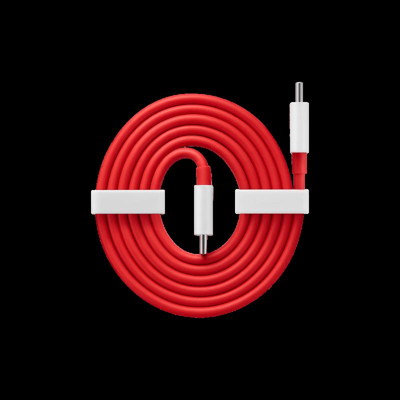 OnePlus USB-C-USB-C-kaapeli Warp Charge -lataukseen.