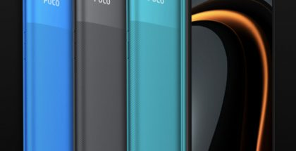 Poco C3 eri väreissä.