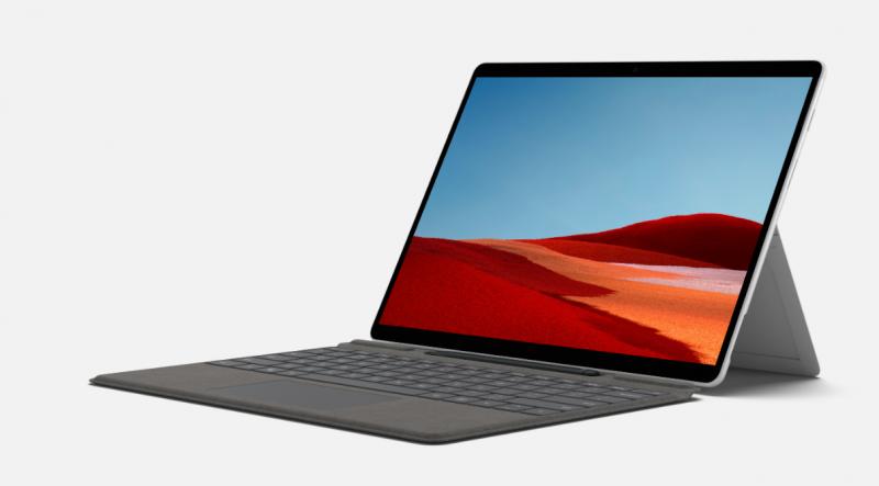 Microsoft Surface Pro X on yksi ARM-perustaisia Windows 10 -laitteita.