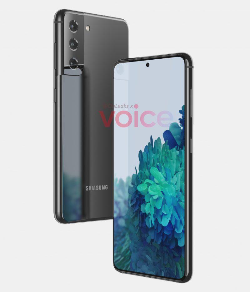 Samsung Galaxy S21 tai S30. Kuva: OnLeaks / Voice.