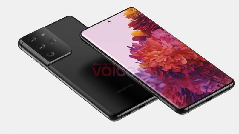 Samsung Galaxy S21 Ultra tai S30 Ultra. Kuva: OnLeaks / Voice.