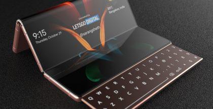LetsGoDigitalin mallinnos esittää Samsungin designin näyttävämmässä muodossa.