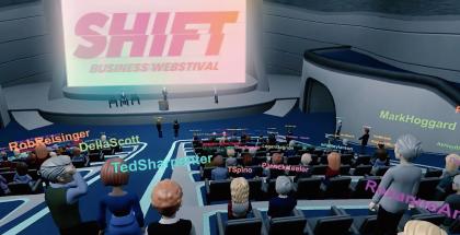 SHIFT toteutetaan 3D-virtuaalitapahtumana.