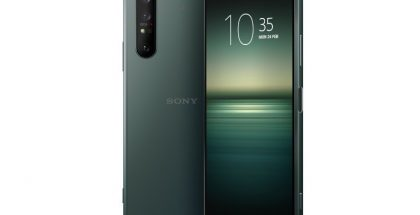 Sony Xperia 1 II, Mirror Lake Green.