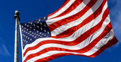 Yhdysvallat lippu.