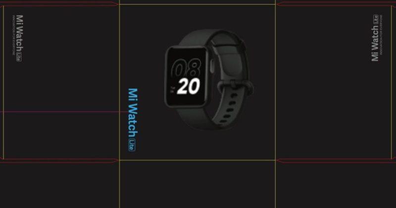 Paljastunut Xiaomi Mi Watch Lite -kuva FCC:n tietokannasta.