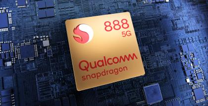 Snapdragon 888 Qualcommin uusi huippuluokan järjestelmäpiiri.