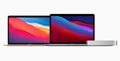 Ensimmäiset Applen omilla M1-suoritinpiireillä varustetut Macit eivät uudistuneet designiltaan.