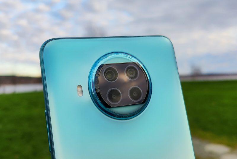 Xiaomi Mi 10T Litessä on neljä takakameraa.