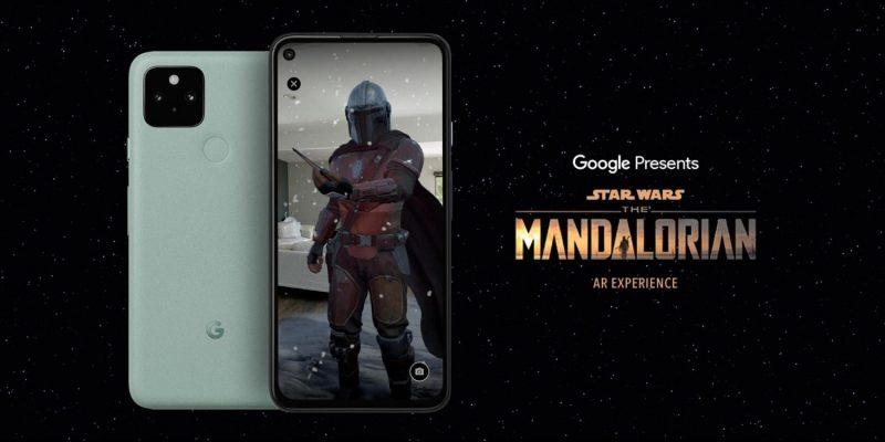 Google julkaisi The Mandalorian -AR-sovelluksen valituille puhelimille