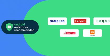 Myös Samsung on nyt mukana Android Enterprise Recommended -suosituksissa.