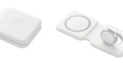 Applen MagSafe Duo -laturi sisältää MagSafe-laturin lisäksi latauspaikan Apple Watchille.