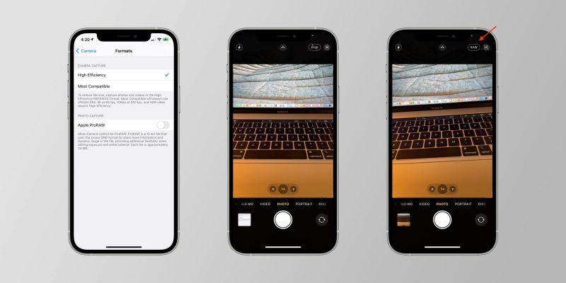 ProRAW on uusi kuvausvaihtoehto iPhone 12 Pro -puhelimissa.