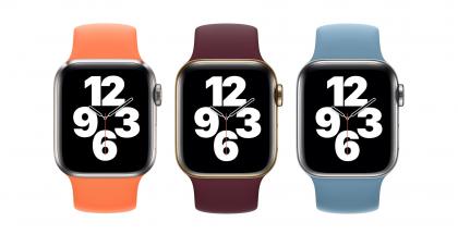 Apple Watch -rannekkeiden uudet värit.