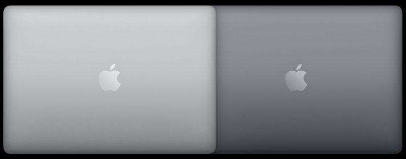 MacBook Pron värivaihtoehdot.