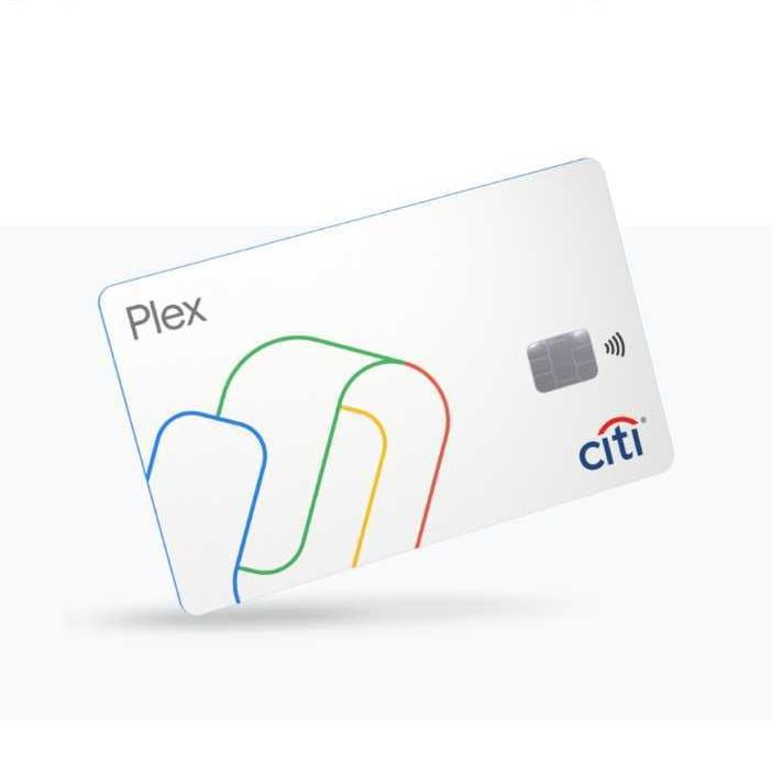 Google Payn Plex-tilin debit-maksukortti.