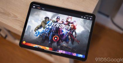 Google Stadia iPadilla. Kuva: 9to5Google.