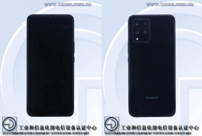Honor HJC-AN00 / HJC-TN00 kiinalaisviranomaisen TENAAn kuvissa.