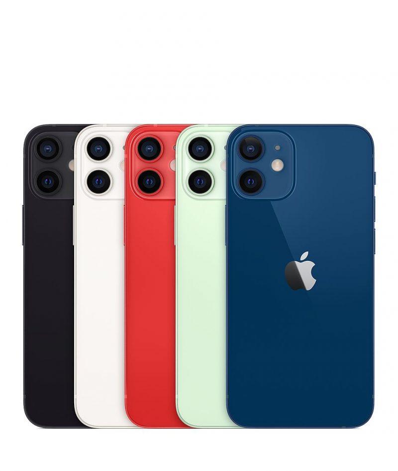 iPhone 12 minin värivaihtoehdot.
