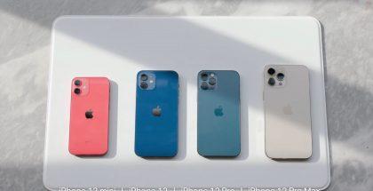 Eri iPhone 12 -mallit.