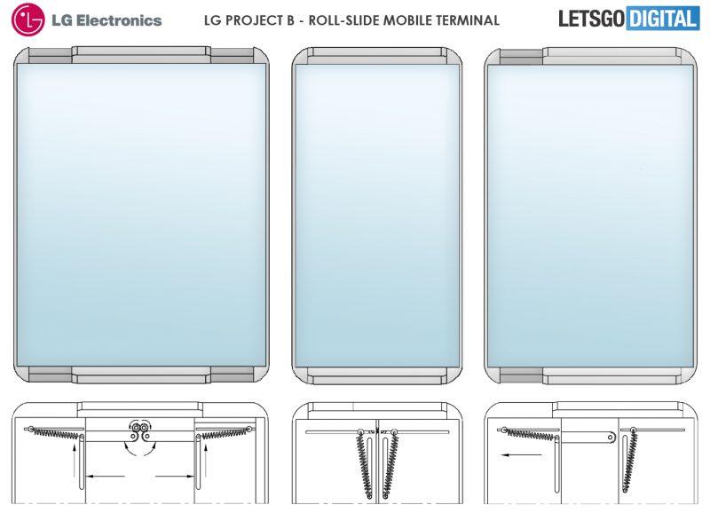 Kuvia LG:n patenttihakemuksesta.