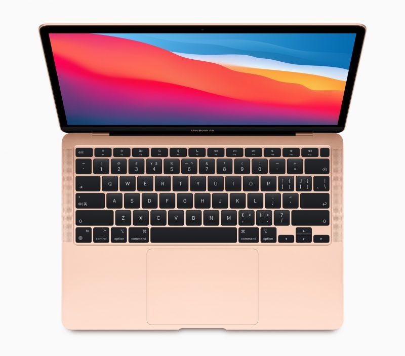 Uuden MacBook Airin ulkoinen design on säilynyt käytännössä ennallaan, mutta sisällä on Applen suunnittelema M1-piiri.