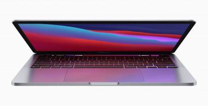 Myös MacBook Pro on ulkoisesti täysin ennallaan.