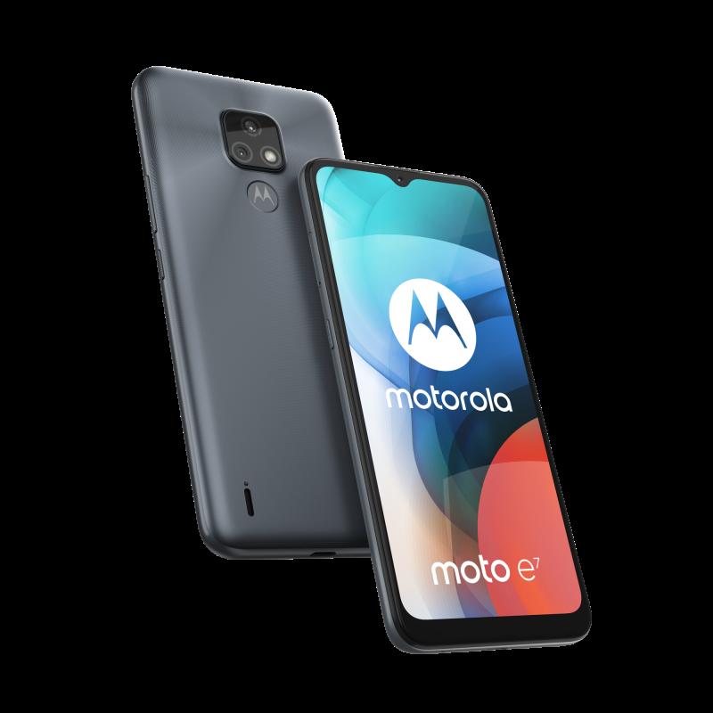 Motorola Moto E7, Mineral Grey.