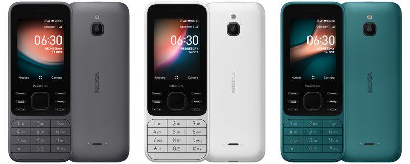 Nokia 6300 4G.
