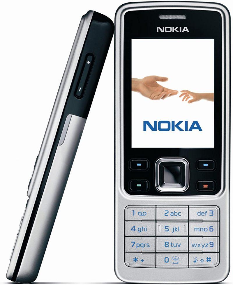 Alkuperäinen Nokia 6300.