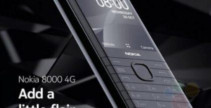 Nokia 8000 4G. Kuva: Roland Quandt / WinFuture.de.
