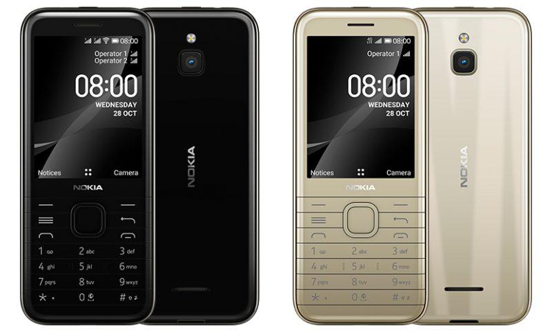 Nokia 8000 4G.