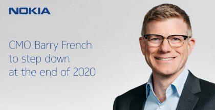 Markkinointijohtaja Barry French jättää Nokian.