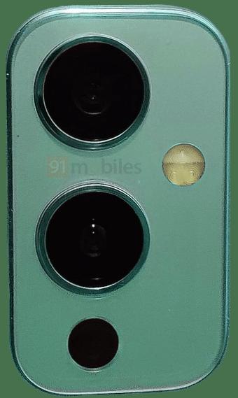 OnePlus 9:n takakamera-alue. Kuva: 91mobiles.