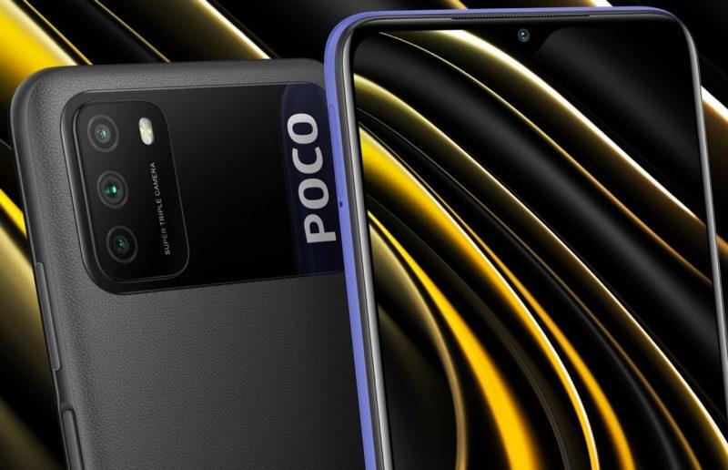 Poco M3:ssa on leveä kohouma takapinnassa.
