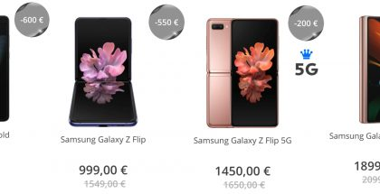 Taittuvanäyttöiset Samsungit nyt Black Friday -tarjouksessa Elisalla.