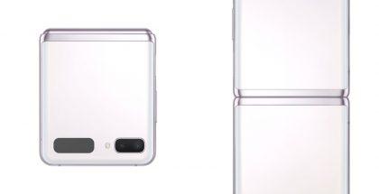 Samsung Galaxy Z Flip 5G, Mystic White.