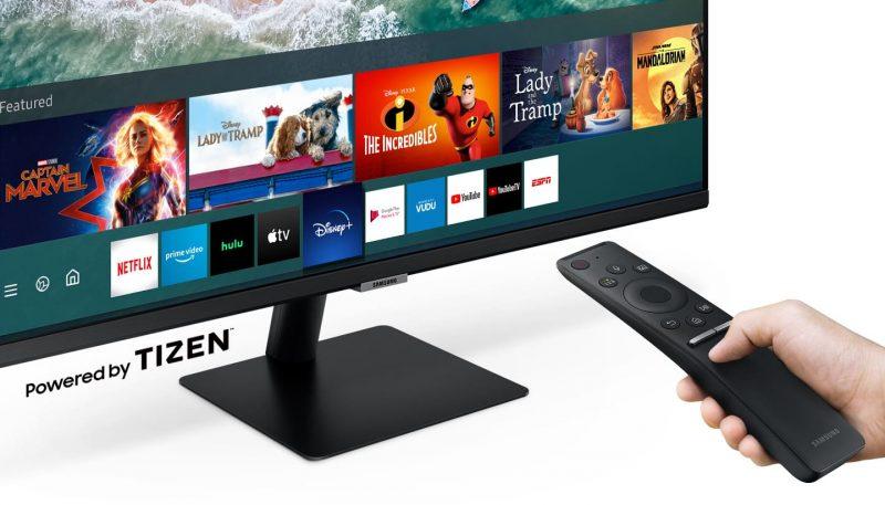 Samsungin Smart Monitor -näytöt sisältävät kattavasti suoratoistosovelluksia.