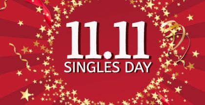 Singles' Day on 11.11.