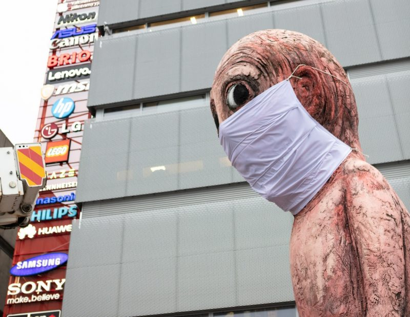 Verkkokauppa.com tarjoaa Black Fridayna asiakkaille kasvomaskin. Myös Bad Bad Boy on saanut maskin.