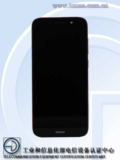 Nokia C1 Plussan näytön koko on 5,45 tuumaa.