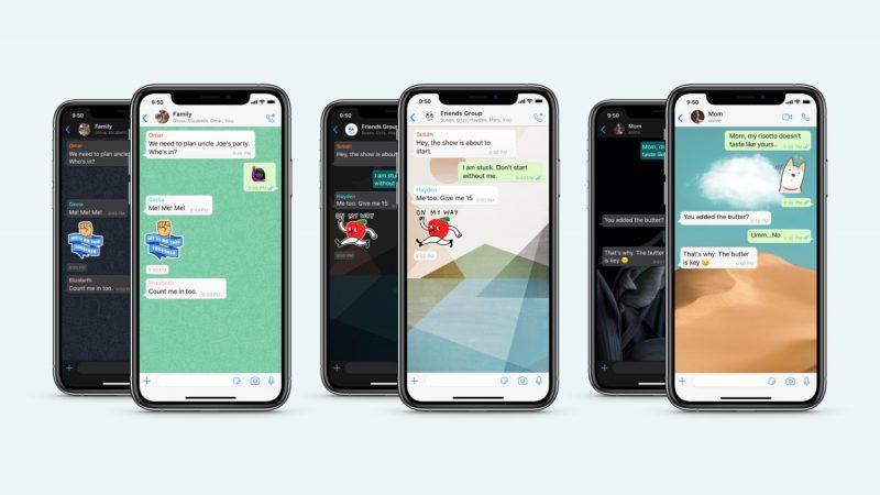 Whatsappiin Merkittava Paivitys Androidilla Ja Iphonella Muun Muassa Keskustelukohtaiset Taustakuvat Mobiili Fi