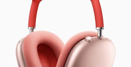 AirPods Max -kuulokkeet pinkkinä.